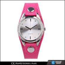 japan movt diamond quartz watch stainless steel back women