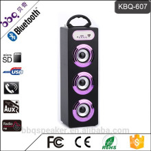 Барбекю КБК-607 15Вт 1200mah батареи громкий 3 сабвуфер домашний Bluetooth колонки 2016