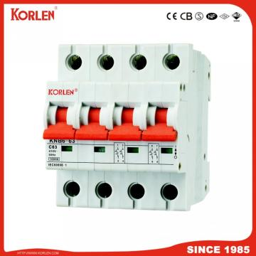 10KA Capacity MCB L7 Series Miniature Circuit Breaker με καλό χαλκό Ce CB Semko Sirim IEC / En60898