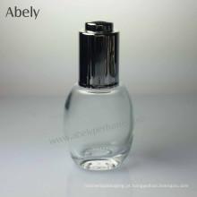 35ml garrafa de óleo de vidro portátil bonito elegante