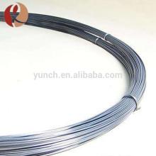 Aluminium tungsten filament wires for women's high heels metalizing