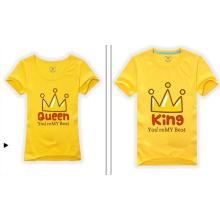 2014 New Custom Couple Organic Cotton T Shirt