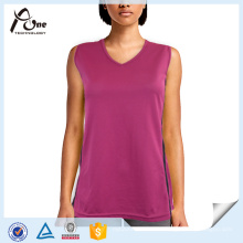 Großhandel V-Ausschnitt Tank Top Frauen Gym Wear