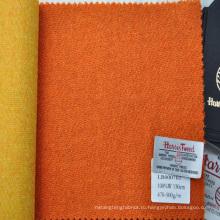 Красочные заказ твид ткань для изготовления покрытия женского