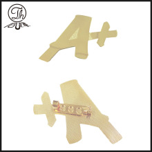 Insignia de pin de metal Letter A Plus