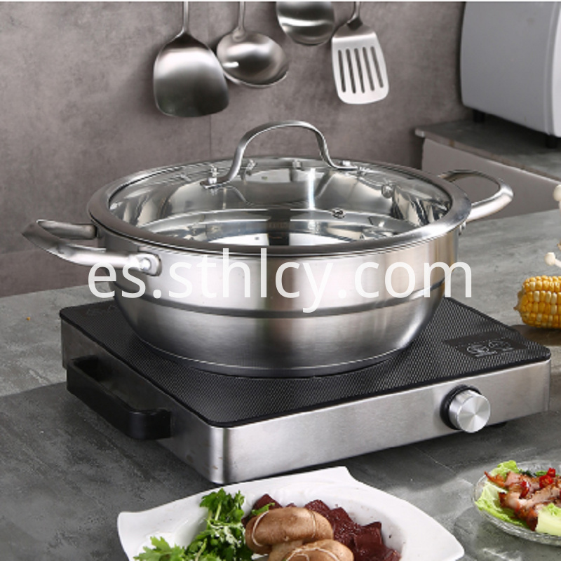 304 Stainless Steel Hot Pot