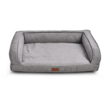 Soft Plush Fur Orthopedic Form Cotton Cloth Warming Cozy Comfort Dog Pet Soft Bed