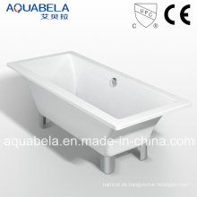 Klassische, doppelseitige Royal Badezimmer Badewanne mit Clawfoot (JL620)