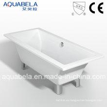 Clásico de doble final baño real bañera con Clawfoot (JL620)