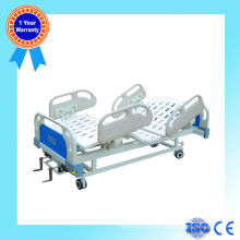 New type double functions manual nursing bed