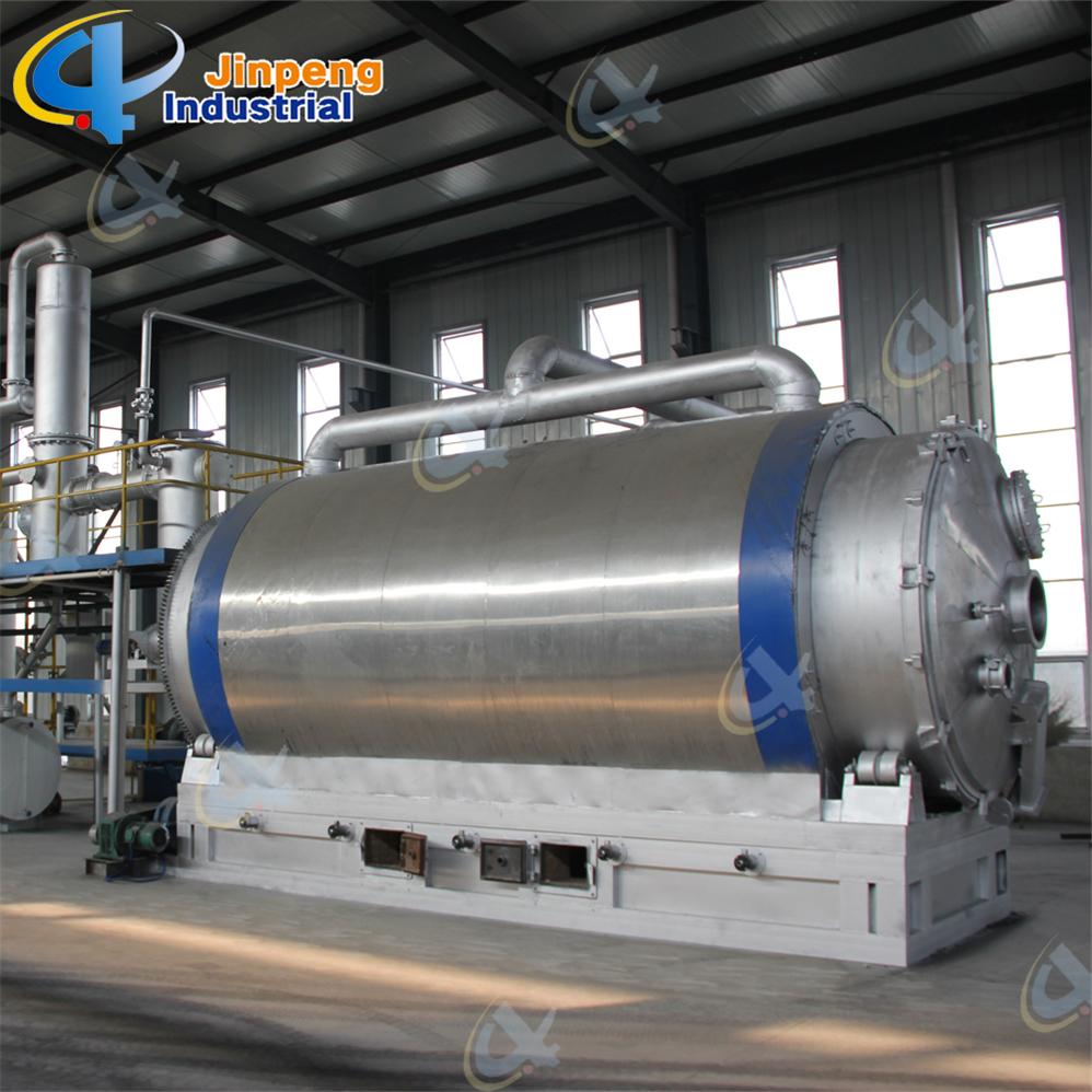 Waste Tire Recycle to Oil Machine