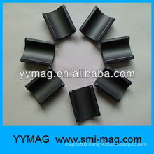 N38H sintered neodymium arc magnet for motor rotor