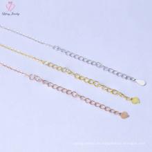 Neues Design Bluk Preis 925 Sterling Silber Halskette Kette für Männer