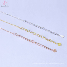 Cadeia nova da colar da prata esterlina do preço 925 de Bluk do projeto para homens