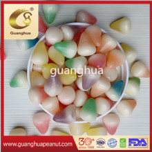 Rainbow Color Oval Jelly Beans with Best Taste Candy
