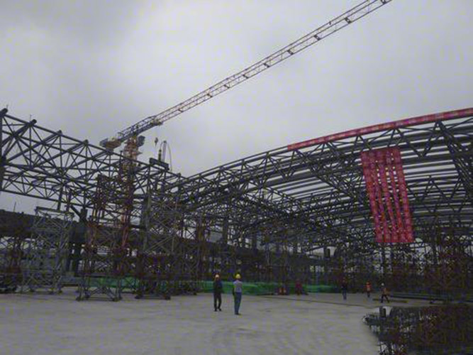 Light Steel Frame Building Truss