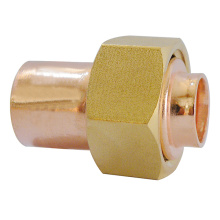 Unión de cilindro recto de alimentación final