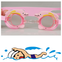 Lovely Carton Silicone Swimming Goggles for Kids