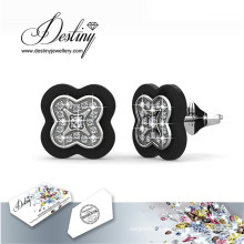 Destiny Jewellery Crystals From Swarovski Lucky Stud Earrings