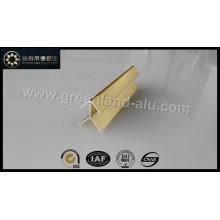 Aluminium Gold Bright Corner Edge Trim Profile