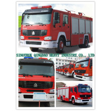 Sinotruk HOWO 8tons Fire Truck
