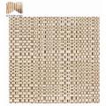 Tissu de maille de tricotage imperméable de jardin deco poly