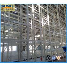 Sistema de armazenamento de alta rack (AS / RS) para armazém