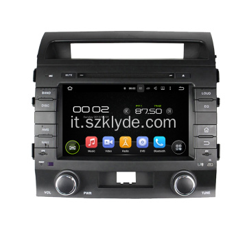 Macchina multimediale android per Land Cruiser 2008-2012