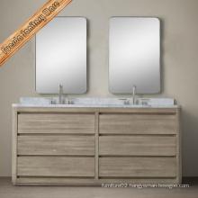 Classic Design Solid Wood Bathroom Cabinet Set Bathroom Vanity