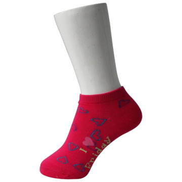 Red Kid's Boat Trainning Socks