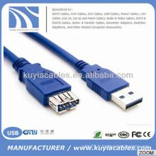Supper Speed USB 3.0 Un mâle à femelle Extension de données Câble de cordon de synchronisation 5Gbps NOUVEAU