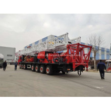 Plataforma de trabalho de 9000 m montada em caminhão para petróleo e gás