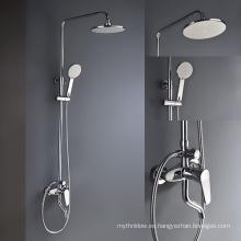 Mezclador termostático de la válvula de la ducha de la cabeza de ducha de la lluvia con mezclador ocultado rociador de la ducha de los jets del cuerpo