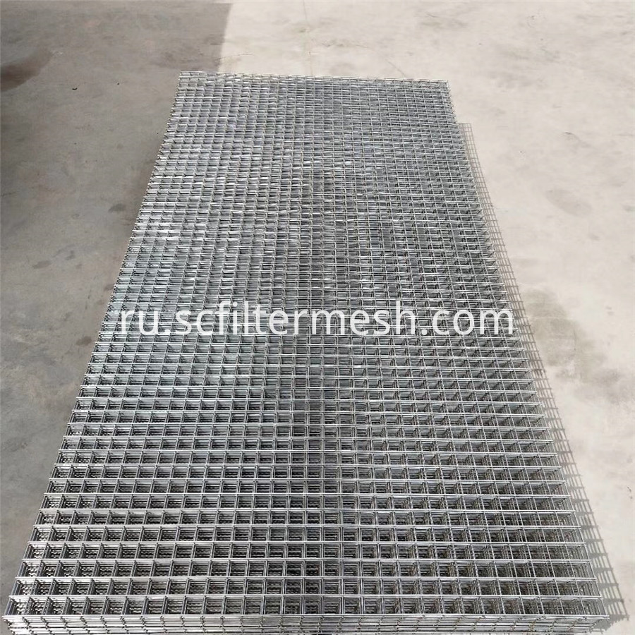 Welded Square Hole Mesh Sheet