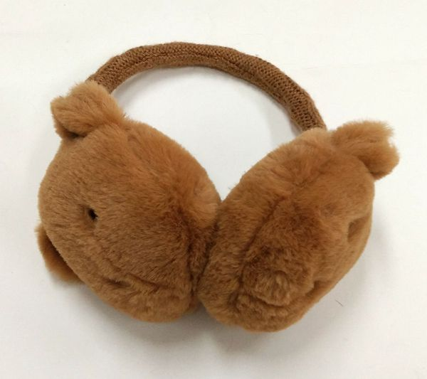Bear Pattern Warm Earmuffs