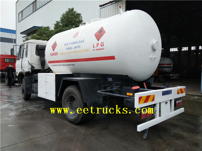 5 MT LPG Gas Cylinder Filling Trucks