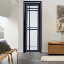 China Manufacturer Frosted Glass Aluminum Room Door and Toilet Door (FT-D80)
