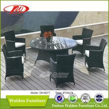 Mesa redonda de jantar ao ar livre (DH-6077)