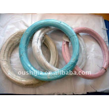 Plastic coated wire(factory)