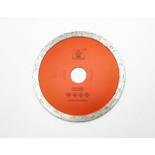 China 4.125inch High Grade Sintered Continuous Rim Diamond Cutting Blades