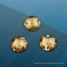 Runde lose Glas Stein Maschine für den Großhandel (DZ-3043)