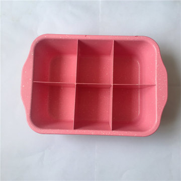 Perfect Slice Solutions borde antiadherente Brownie Pan