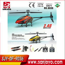camera with lcd screen rc helicopter with gyro 2.4G single blade