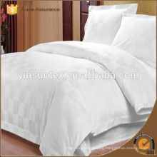 Hotel bleached white cotton fabric for bed linen