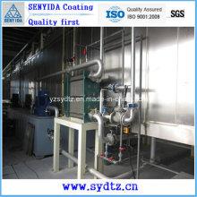 Heißverkaufs-Pulverbeschichtungsmaschine / Lackierlinie (Vorbehandlung)