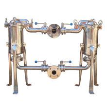 Boîtiers de filtre à manches duplex
