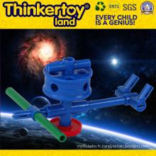 Modèle d'avion jouet intellectuel pour jouet éducatif pour enfants