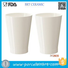 Custom Wholesale White Ceramic Planter Pot