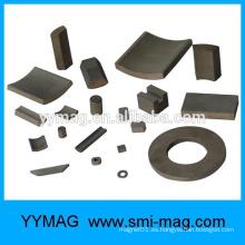 Profesional fabricante chino de alta calidad material magnético imanes de rotor SmCo