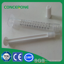 Kosmetische orale weibliche Luer-Lock-Spritze 1 ml mit PP-Material